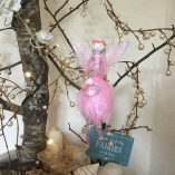 feather fairy pink front view