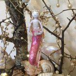 pink dancing mermaid