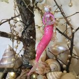 pink dancing mermaid
