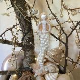 white dancing mermaid