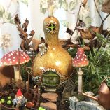 gourde shaped fairy home