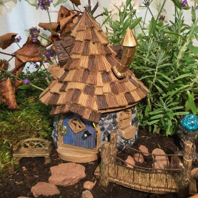 Shingletown Cone Top Fairy Home