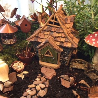 Shingletown Cottage Fairy Home