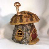 Shingletown Mushroom Fairy House with chimney