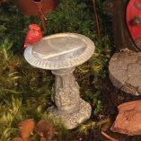 Fairy accessory Cardinal Bird Bath