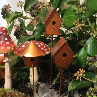 fairy accessory bird house x three