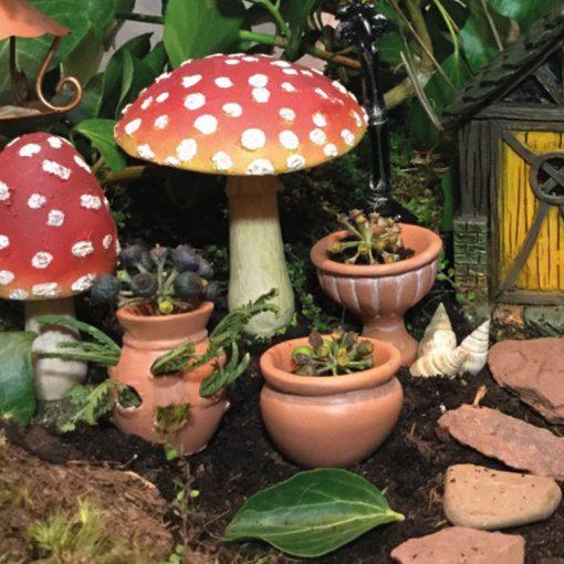 fairy accessory terracotta pots 3