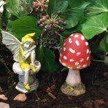 fairy accessory toadstool thin short