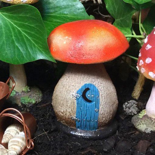 fairy accessory mushroom outhouse