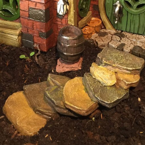 fairy accessory rock stair steps