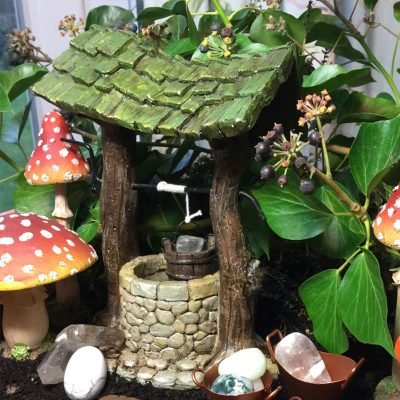 fairy accessory wishing well