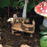 fairy accessory courting bench