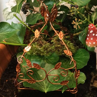 fairy accessory leaf canopy