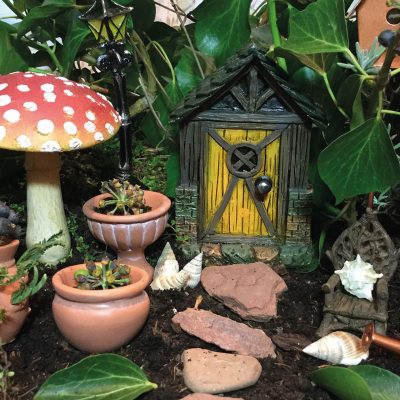 five quarters cottage fairy door