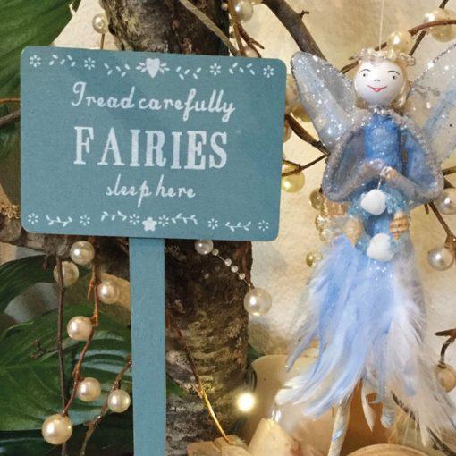 tread carefully fairies sleep here